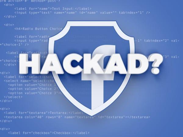 Har ditt Facebook-konto blivit hackat? Gör så här!